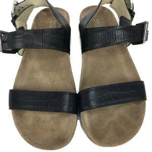 Michael Kors Soft Bed Sawyer Black Sandal